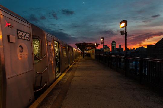 n ny subway
