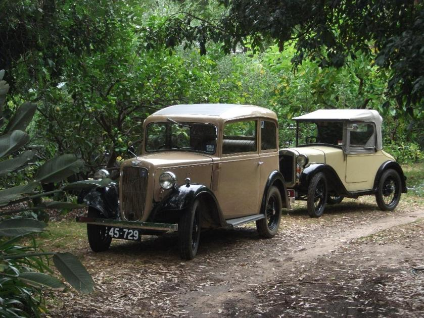 ss A pearl and a 2 seat tourer