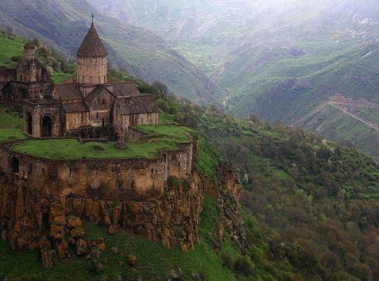 n 9th-century Monastery of Tatev in southeastern Armenia