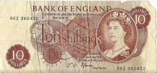 ss ten shillings