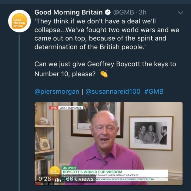 a boycott