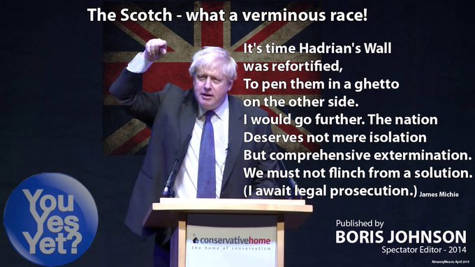 boris on scotland