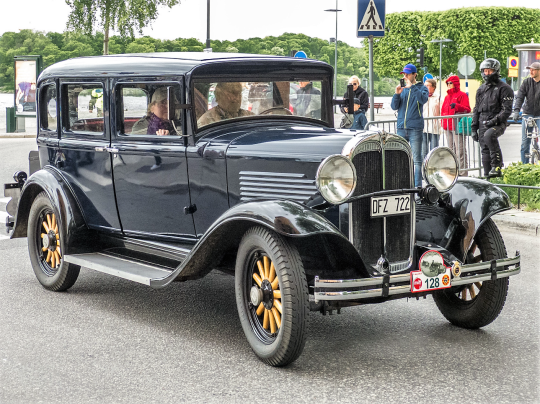 aou 1931 Willys Six M97 Four Door Sedan